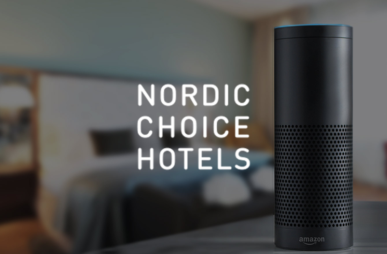 Nordic Choice Hotels Alexa AI